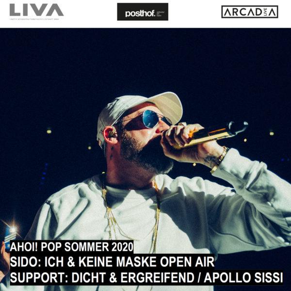 SIDO: Ich & keine Maske / Open Air | 16.7.2020 | Ahoi! Pop Sommer 2020